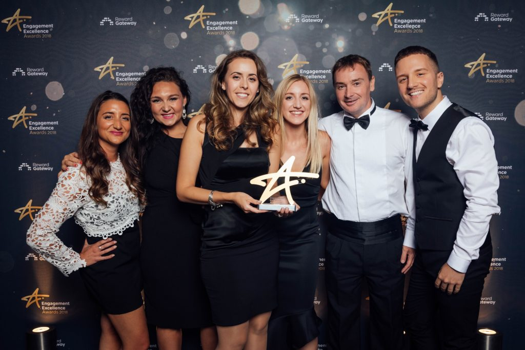 Rewards at REED win at engagement excellence awards