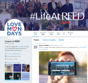 careers at reed twitter