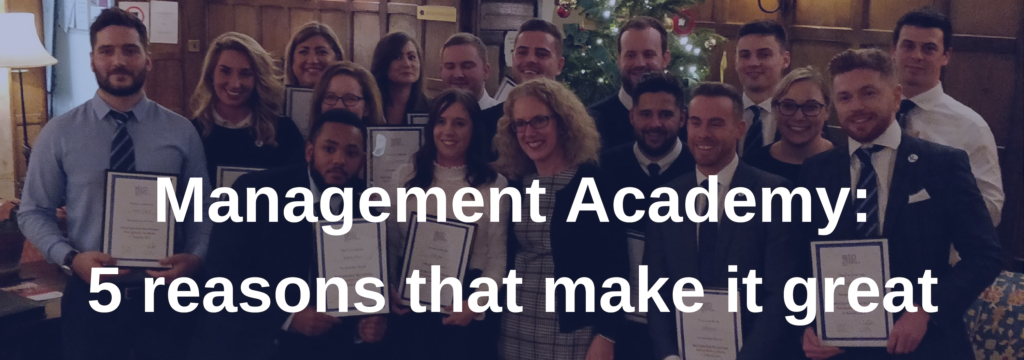 management academy - 5 reasons