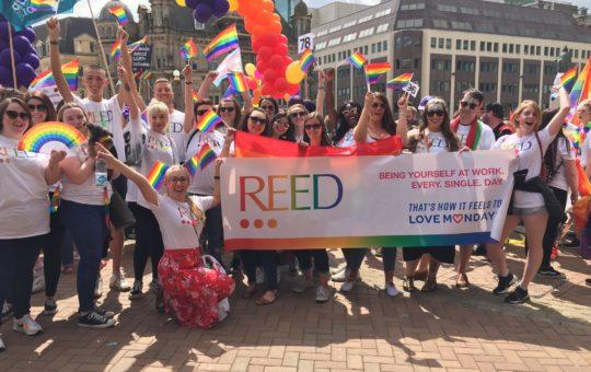 Pride 2019 - REED at Birmingham Pride