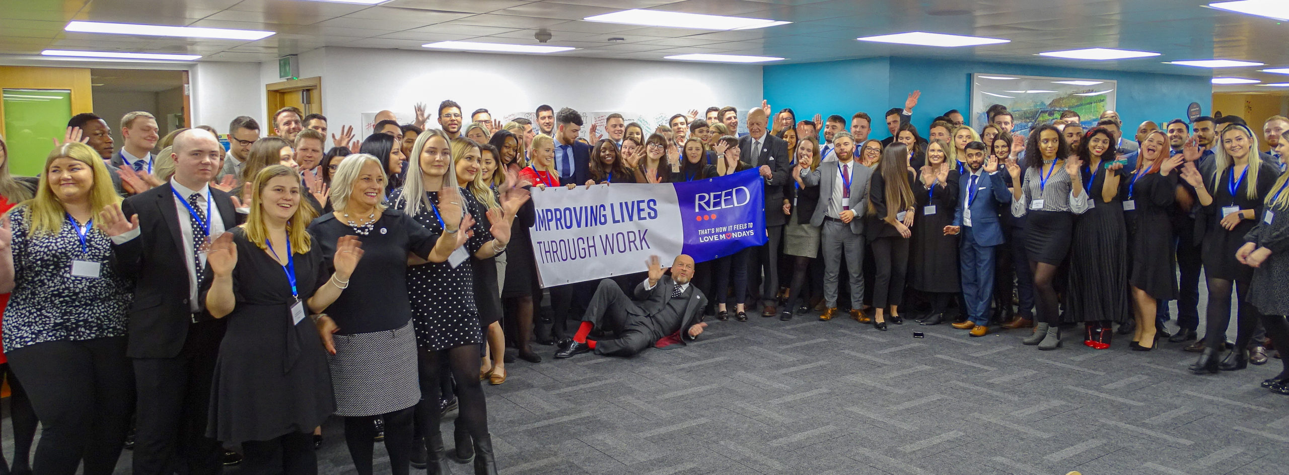 Apprenticeship Take Off Celebration event 2020 with James Reed CEO
