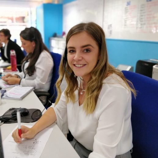 St Albans - female recruitment consultant at desk