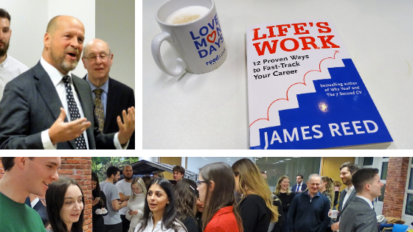 Life's Work Book Launch Blog - with James Reed author and REED CEO