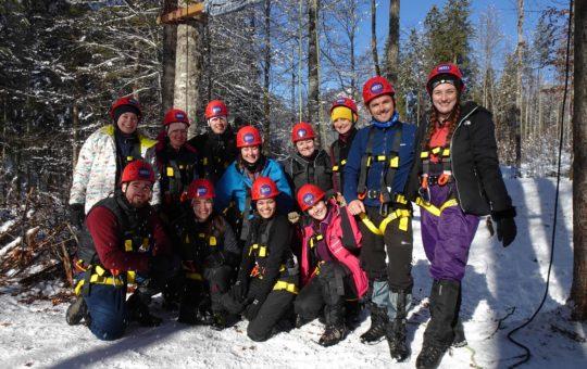 Alpine Leadership Challenge 2020 - whole group