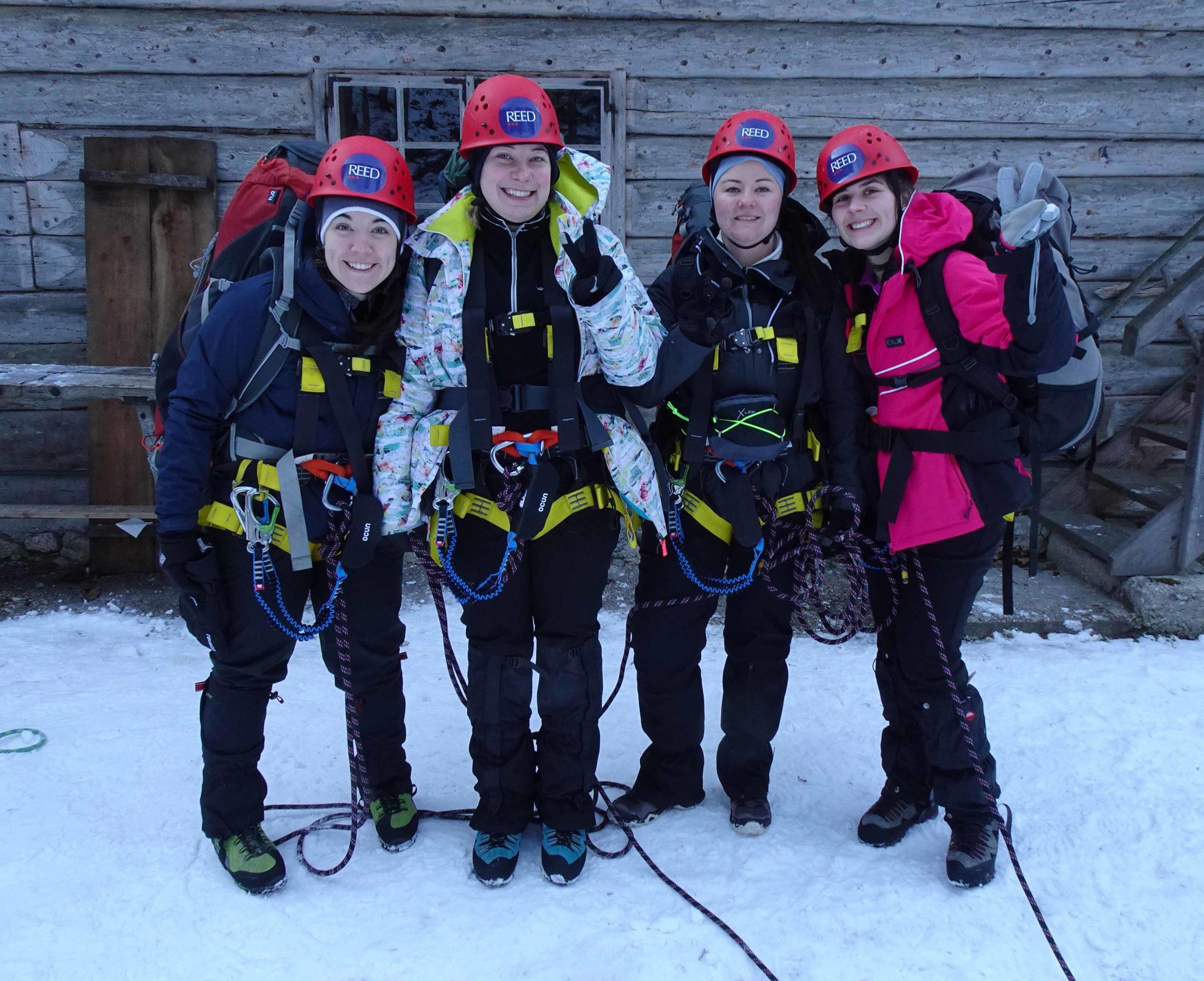 Alpine Leadership Challenge 2020 - 4 team members