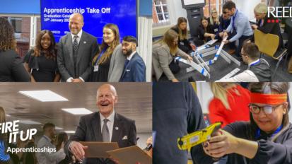 Take Off 2020 Blog cover image - apprenticeship event