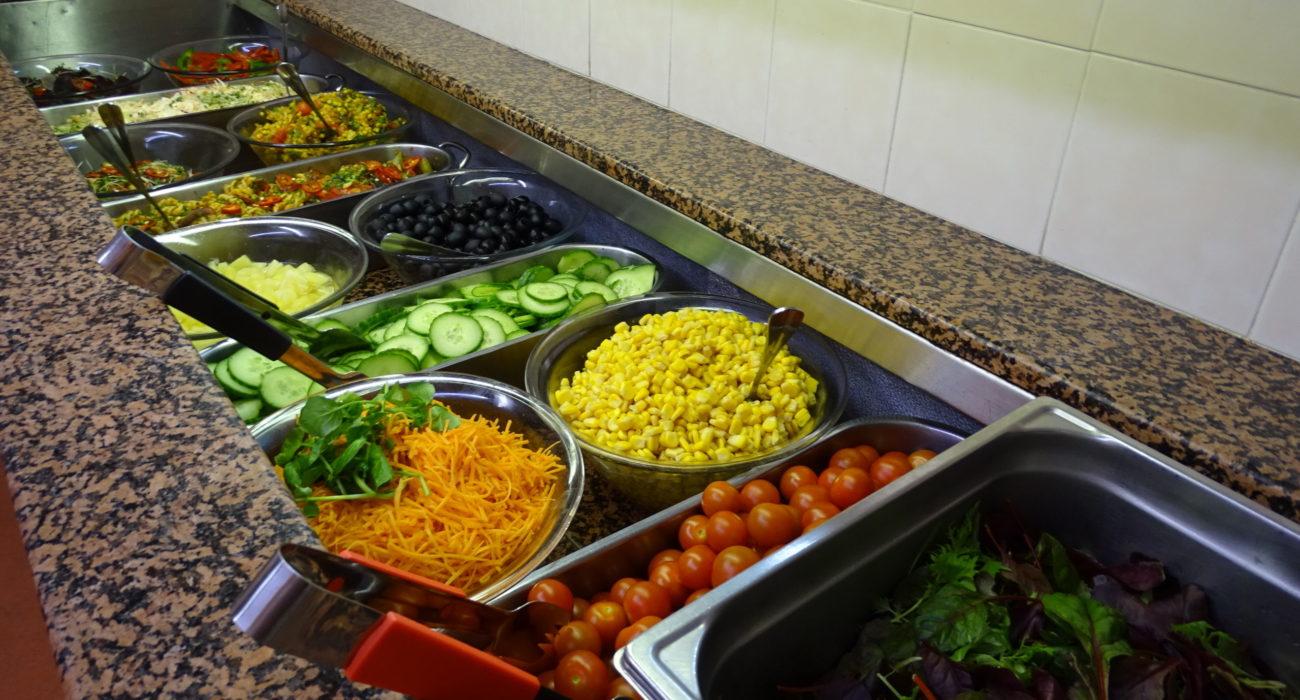 Reed Business School Salad bar