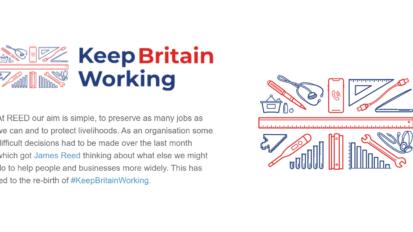 keep britain working blog article - REED careers