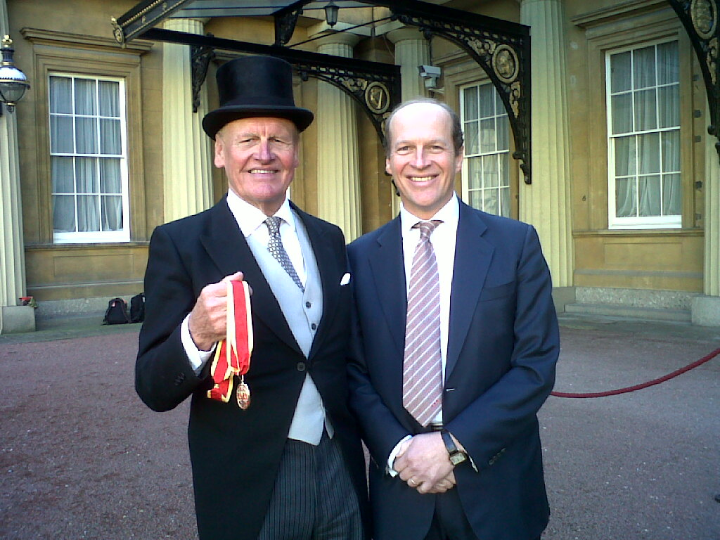happy birthday reed blog - james and alec reed in 2011 with medal from knighthood