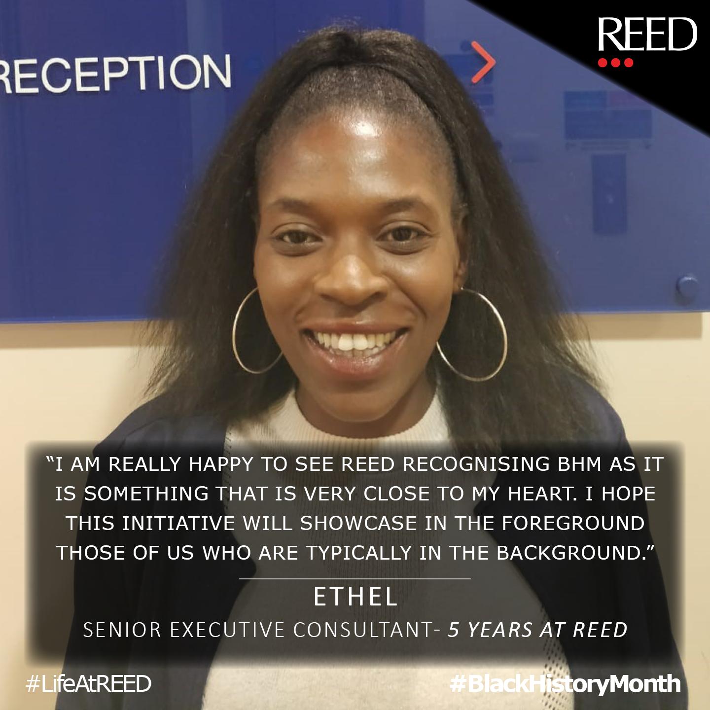 what black history month means to me - Ethel Nadegwa - Senior Exec Consultant