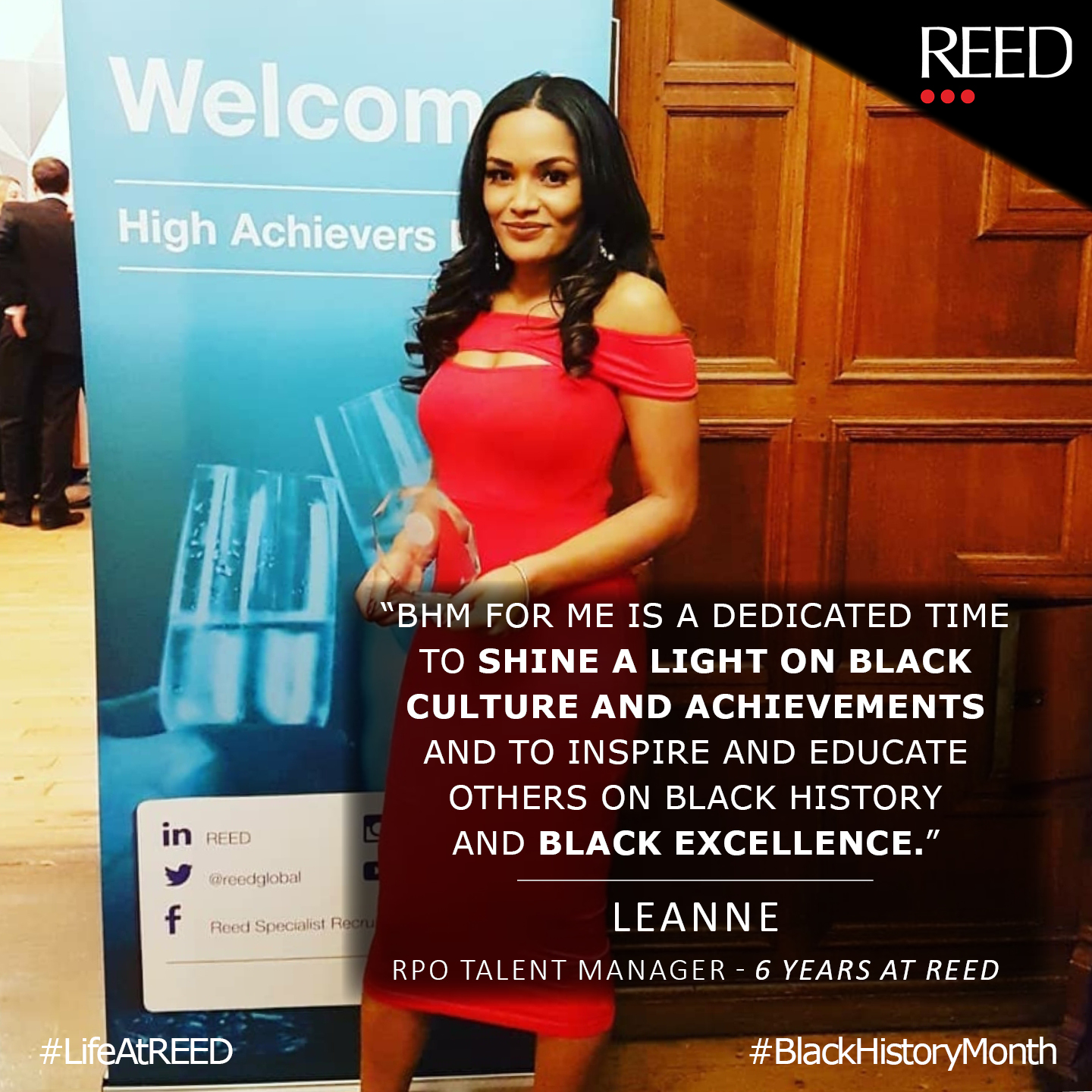 Leanne Barter - Black History Month 2020 quote