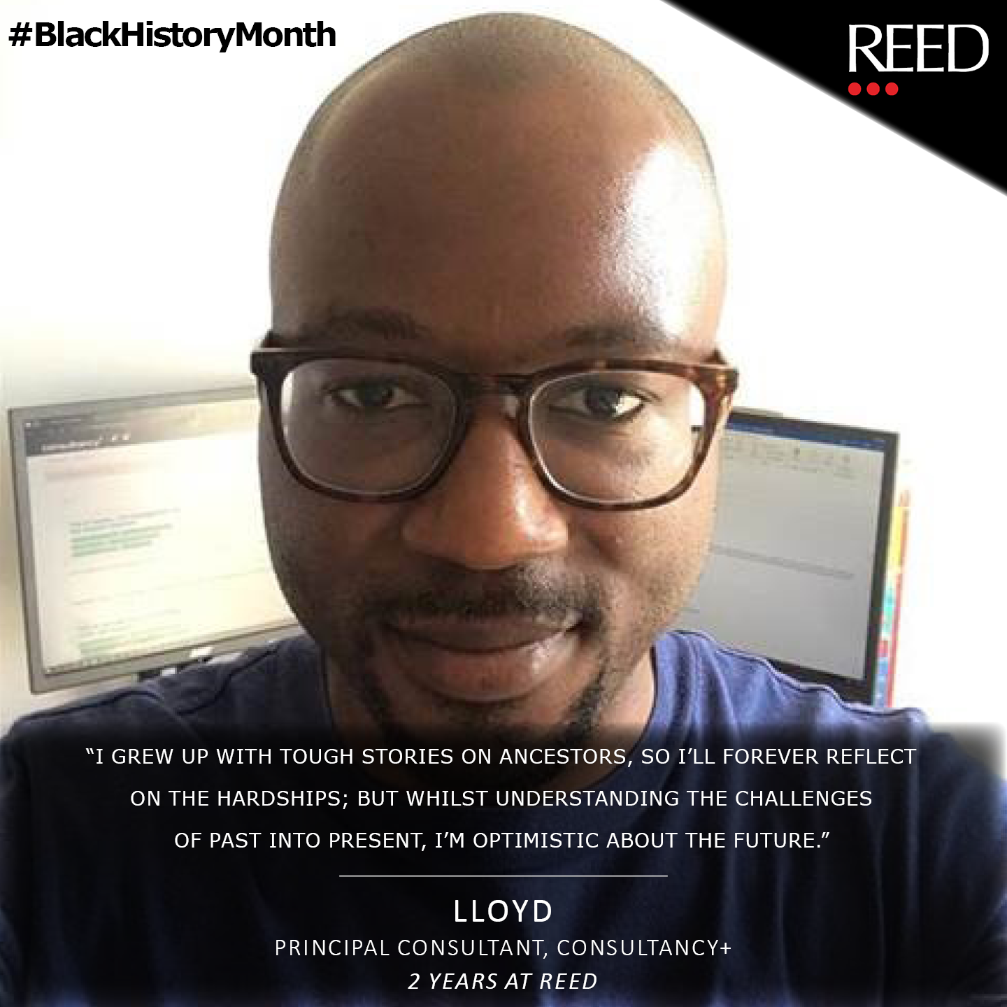 Lloyd Nartey - what black history month means to me - Principal Consultant at Consultancy Plus