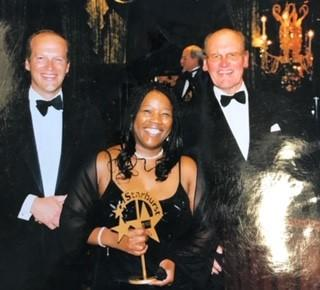 Helen Fontaine with James and Sir Alec