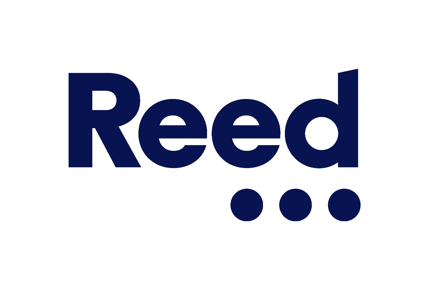 Reed Logo blue transparent
