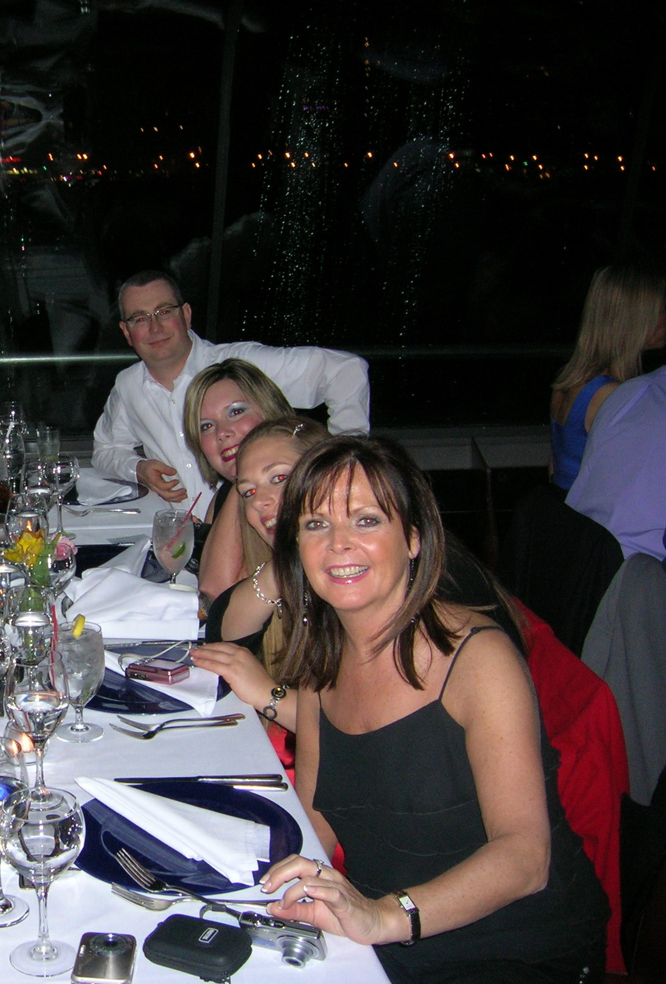 Simon Baddeley in New York with colleagues