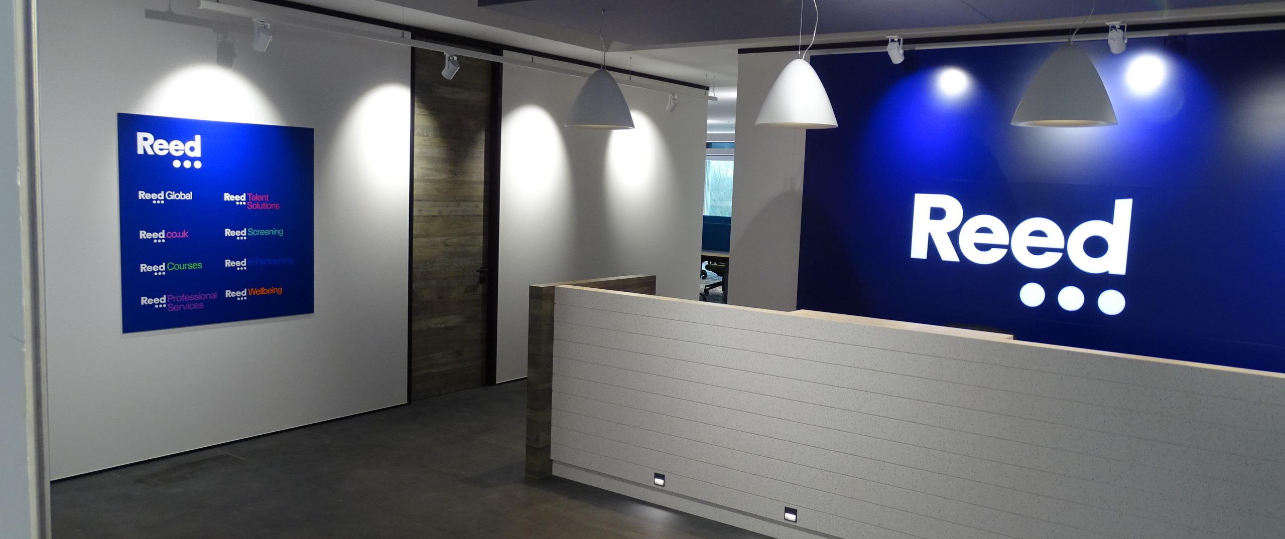Reed reception N900 - northampton office UK