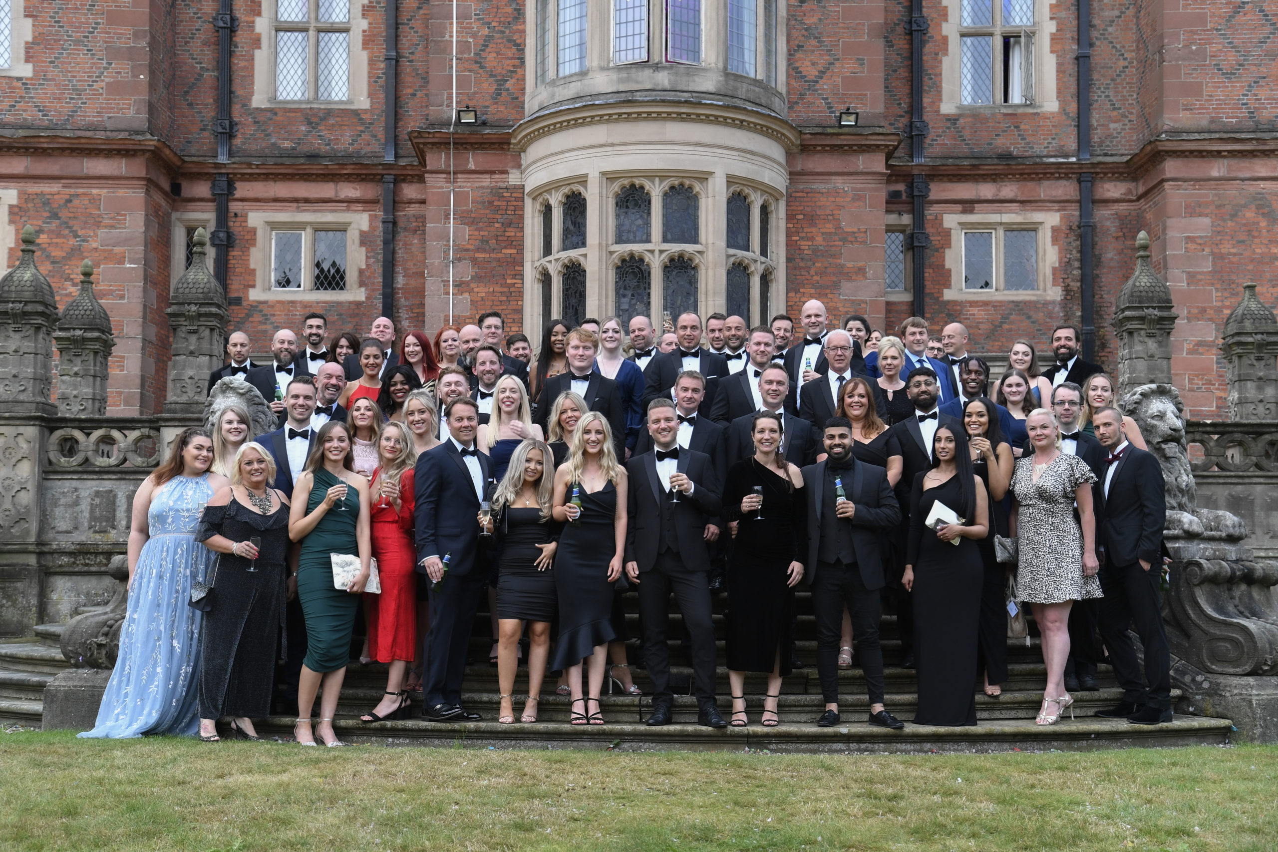HA2021 High Achievers event group photo of co-members outside Crewe Hall